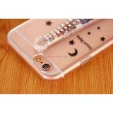 Schneller Sand färbte Tuch-Handy-Deckel-Kasten für iPhone/Samsung/Moto