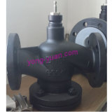 Soupape motorisée par vapeur d'acier inoxydable de Flangetype (VD-2615-80)
