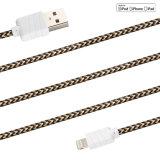 Gesponnenes Riemen USB-Kabel für Apple-Handys/iPad