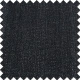 Black Cotton Rayon Polyester Spandex Denim Tecido escovado