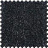 Tessuto spazzolato denim nero dello Spandex del poliestere del rayon del cotone