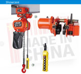 2t Electric Chain Hoist com Motorized Trolley & Overload Limiter