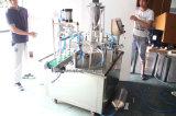 Tipo giratório máquina de enchimento manual da cápsula do café com Ce