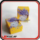 Caja de empaquetado cosmética de la cartulina de encargo de la impresión