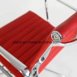 Büro-Möbel lederner Eames Personal-Aluminiumstuhl (RFT-B02)