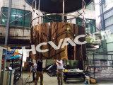 Лакировочная машина плиты PVD нержавеющей стали Hcvac, вакуум золота Tianium металлизируя машину
