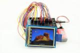 écran LCD 128X64 graphique avec l'affichage à cristaux liquides bleu négatif de Stn