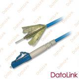 Parte esterna corazzata ottica del cavo di zona della fibra