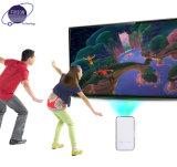 WiFi Miracast、AirplayのレーザープロジェクターSmartphone/ホームシアターのための小型プロジェクター