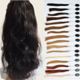 손으로 인도 Women Human Hair Frontal Lace Wigs Tide