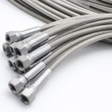 Aluminum Wire Outer Braided Rubber Air Water Fuel Hose