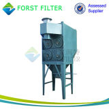 Sistema del colector de polvo del cemento de la planta de Forst