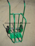 2 in 1 Pesante-dovere Hand Trucks di Multi Function Folding Firewood Metal