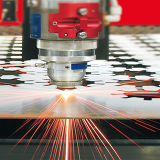 Laser-Ausschnitt-Maschine des Leistungs-Laser-Scherblock-3000W für Tunnel