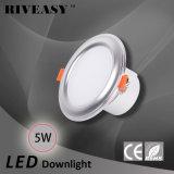 5W iluminação do diodo emissor de luz Downlight de 3.5 polegadas com o diodo emissor de luz Integrated do excitador