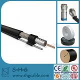 Messager du câble coaxial de liaison Rg11 de CATV