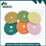 대리석과 화강암을%s 다이아몬드 유연한 젖은 닦는 패드