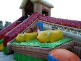 Sale caldo Inflatable Egitto Funcity con Bouncer e Slide per Chilidren Ana Commercial Use
