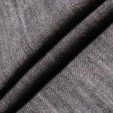 Tissu de toile visqueux de denim de Tencel de coton noir