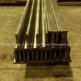 Het pre-gegalvaniseerde Kanaal Van uitstekende kwaliteit van Staal 304 van het Roestvrij staal