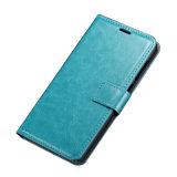 HTC 하나 A9를 위한 가죽 지갑 카드 구멍 손가락으로 튀김 케이스