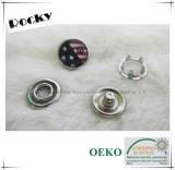 Bouton en laiton de dispositif de fixation instantané de fourche de perle pour la chemise
