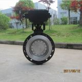 API Carbon Steel Double/Triple Eccentric Butterfly Valve mit Gear Box