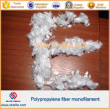 Monofilament pp Fiber voor Concrete