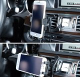 Quick Release Buttonの車Mount Holder Cradle