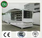 Casa de protector prefabricada de la paga inferior/prefabricada móvil