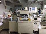 A etiqueta Flatbed morre a máquina do cortador e a máquina de carimbo quente