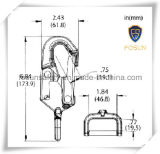 en vente modifiée crochet en acier de rupture de courroie avec le loquet 46mm de sûreté