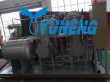Hohe Leistungsfähigkeits-Abfall-Gummireifen-Pyrolyse-Schmieröl, das Maschine aufbereitet