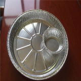 ТеплостойкfNs алюминиевая фольга для используемой еды контейнера
