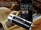 Allumeur émetteur FM de cigarette de nécessaire de véhicule de Bluetooth de lecteur MP3 de véhicule de dépliant (FM28B)
