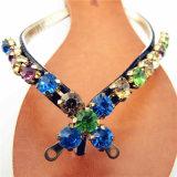 숙녀를 위한 Sandal 형식 모조 다이아몬드 단화 버클 부속품