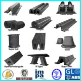 Submarine를 위한 조선소 Marine Ship Cylindrical Rubber Fender