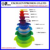 9PCS высокое качество Colorful Eco-Friendly Cake Baking Tools (EP-LK57271)