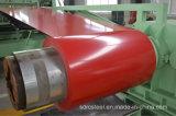 L'usine a enduit la bobine d'une première couche de peinture en acier PPGL de Galvalume