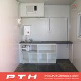 Chambre préfabriquée durable de conteneur de coût bas pour la maison vivante avec le balcon