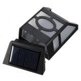 10 Zaun-Rinne-Licht des LED-im Freien wasserdichtes Garten-Dekoration-Licht-Control+Montion Sensor+Dim helles der Sonnenenergie-LED