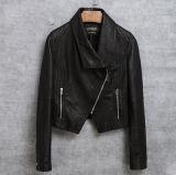 女性のための実質のヒツジの革のジャケット