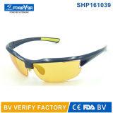 Glaces de la vision Shp161039 nocturne avec la lentille polarisée jaune