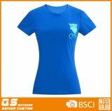 T-shirt à séchage rapide de mode de l'impression des femmes