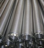 Pipe ondulée de métal flexible d'onde