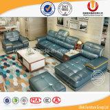 متأخّر [لتلين] رشيق جلد أريكة تصميم أريكة مريحة لأنّ يعيش غرفة ([أول-ر823])