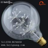 La Navidad popular adornó el bulbo estrellado del LED
