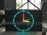 Visualización móvil publicitaria grande del carro de la pantalla de los acoplados LED de la visualización