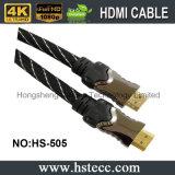 constructeur à grande vitesse de câble en métal HDMI HDMI de 30m M/M