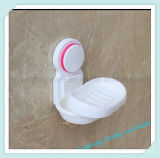 Поднос тарелки держателя коробки мыла чашки всасывания стены ливня ванной комнаты пластичный